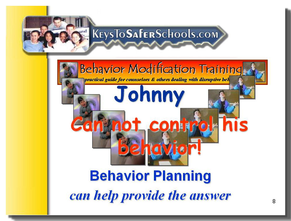 Behavioral Modification Training