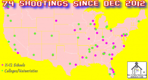 School Shootings rise to 32 with 30 Dead an 53 injured