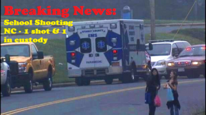 Breaking News: School Shooting NC - 1 shot & 1 in custody